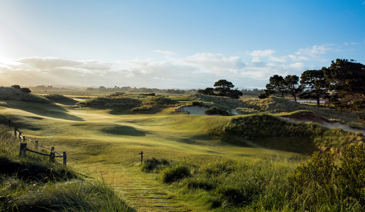 The Dunes golf course - early morning