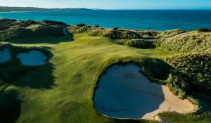 The Dunes golf course - ocean in the background