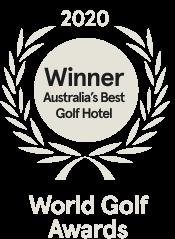 Barnbougle award - Winner Australia's best golf hotel